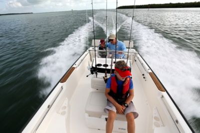 Cooler seat (included in fishing package)
