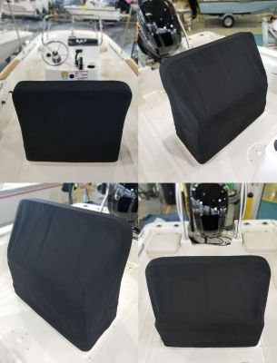 Reversible pilot seat cover