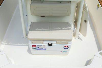 Cooler seat (included with fishing pkg)