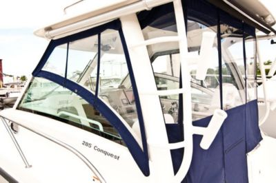 Weather curtain set for hardtop
