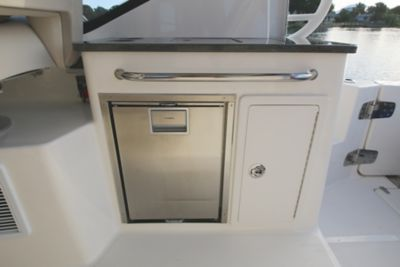 Refrigerator at cockpit