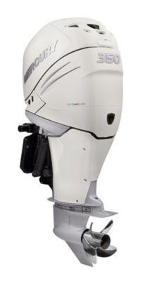 350 L6 DTS White Dual Mercury Verados