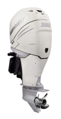 350 L6 DTS White Dual Mercury Verado