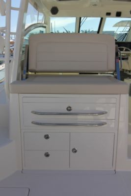 Tackle storage with drawers