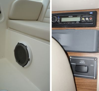 Premium Audio Package (cabin and helm deck)