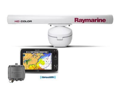 Raymarine Radar - Open Array w/weather