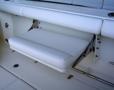 Seating - cockpit fold-out bench seat