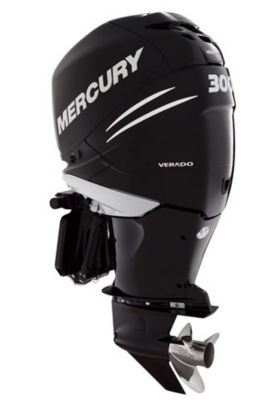 300 V8 DTS Black Triple Mercury Verados