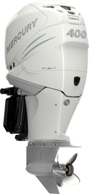 400 L6 DTS White Triple Mercury Verados