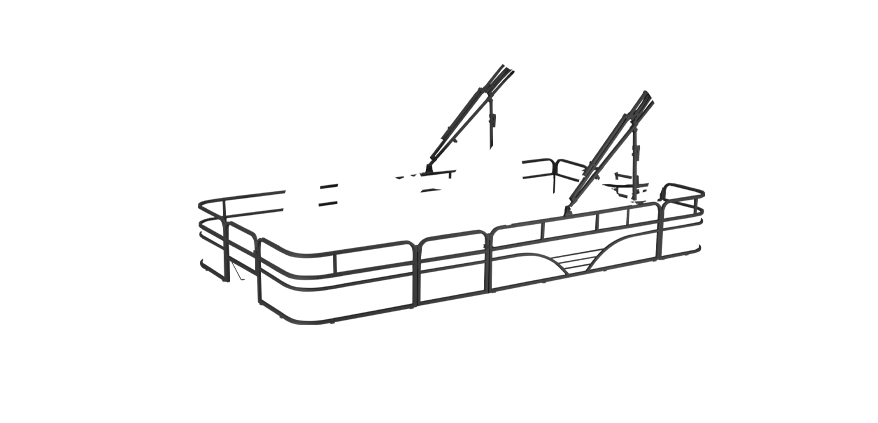 LW 214V Overlays rails black