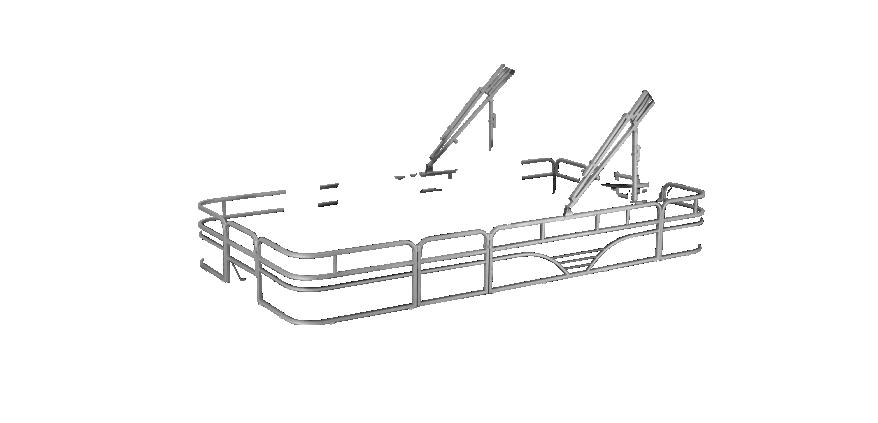 LW 214V Overlays rails silver