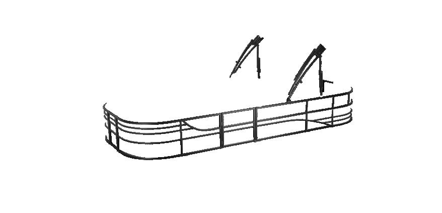 LW 230WT Overlays rails black