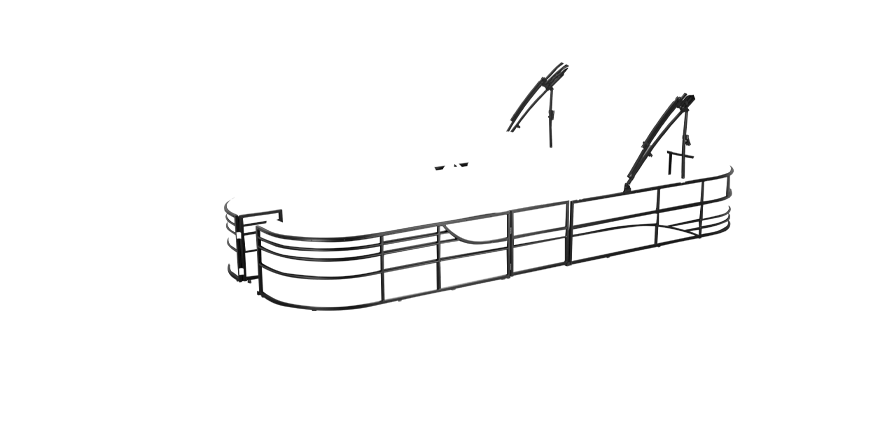 LW 270EWT Overlay rails black