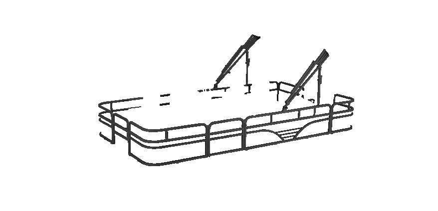 LW SF194 Overlays rails black