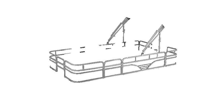 LW SF194 Overlays rails silver