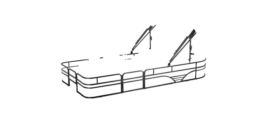 LW SF212WT Overlays rails black