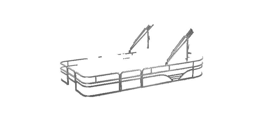LW SF212WT Overlays rails silver