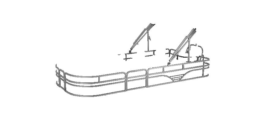 LW SF212 Overlays rails silver