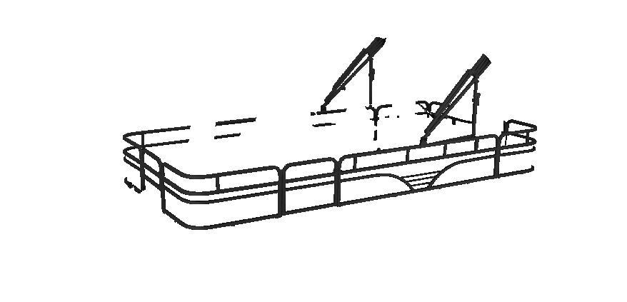 LW SF214 Overlays rails black