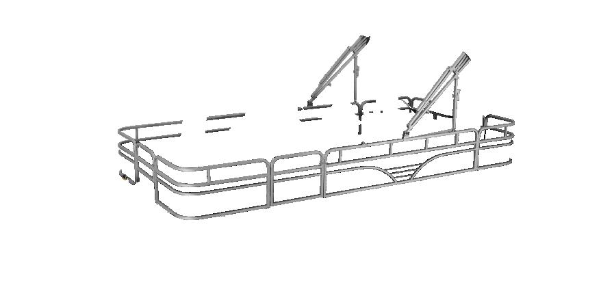 LW SF214 Overlays rails silver