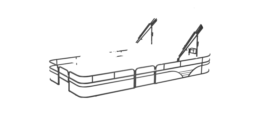 LW SF232WT Overlays rails black