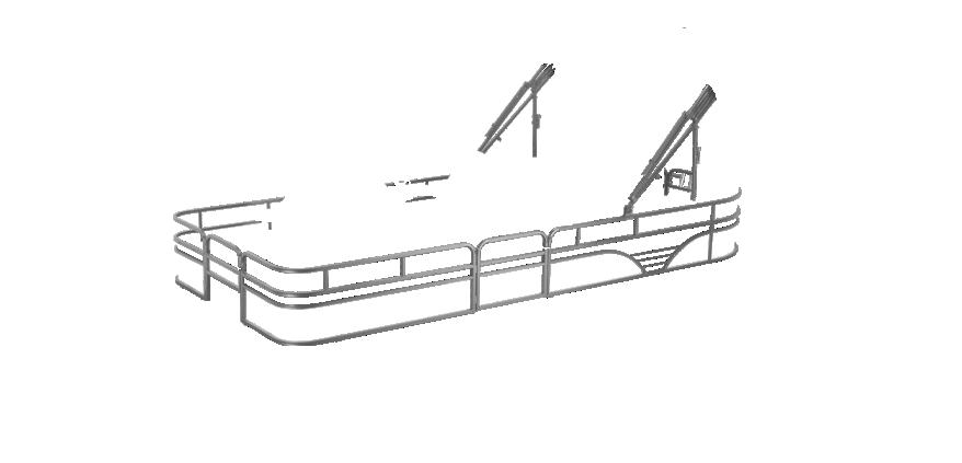 LW SF232WT Overlays rails silver