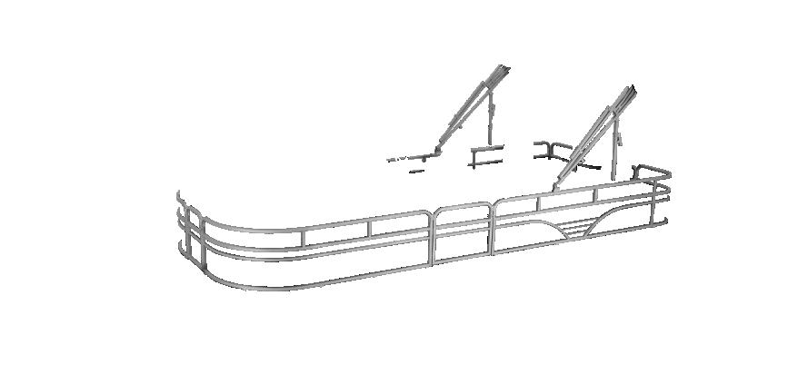 LW SF232 Overlays rails silver