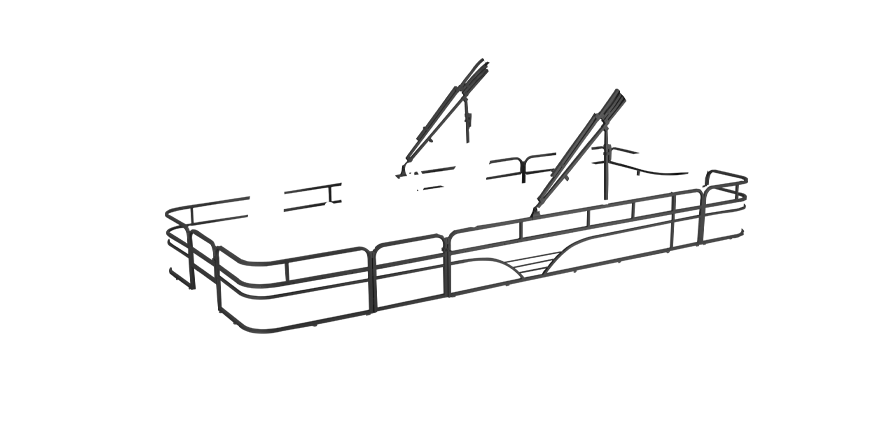 LW SF234 Overlays rails black