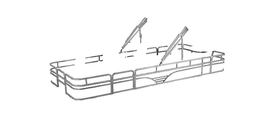 LW SF234 Overlays rails silver