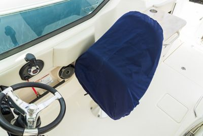 Pedestal seat cover