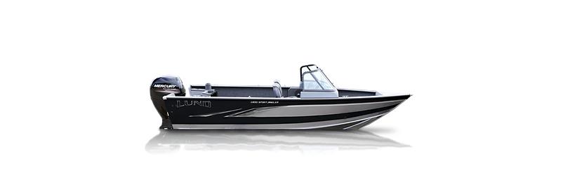 1800 Sport Angler - Black - Silver Stone