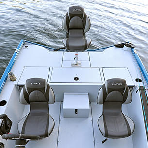 1875-1975 Renegade Aft Deck with Seat shown with Gray Lund Guard Floor and Interior Option