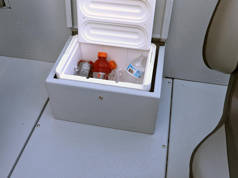 1875-1975 Renegade Cooler shown with Gray Lund Guard Floor and Interior Option