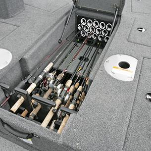 2075-Pro-Guide-Bow-Deck-Center-Rod-Locker-Storage-Compartment-Open