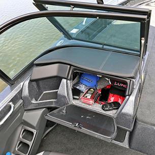 219-Pro-V-GL-Port-Console-Glove-Box-Storage-Compartment-Open