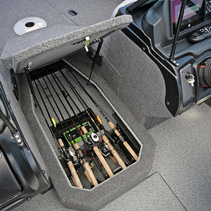 Crossover-XS-Center-Rod-Locker-Storage-Compartment-Open