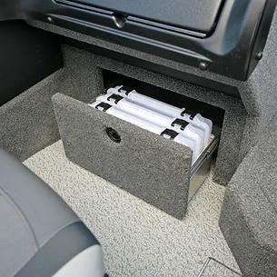 Crossover-XS-Port-Under-Console-Tackle-Tray-Storage-Drawer-Open.