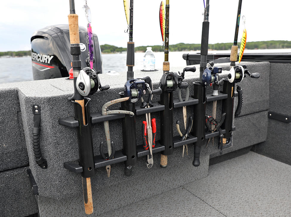 Fisherman Aft Rod and Tool Holder