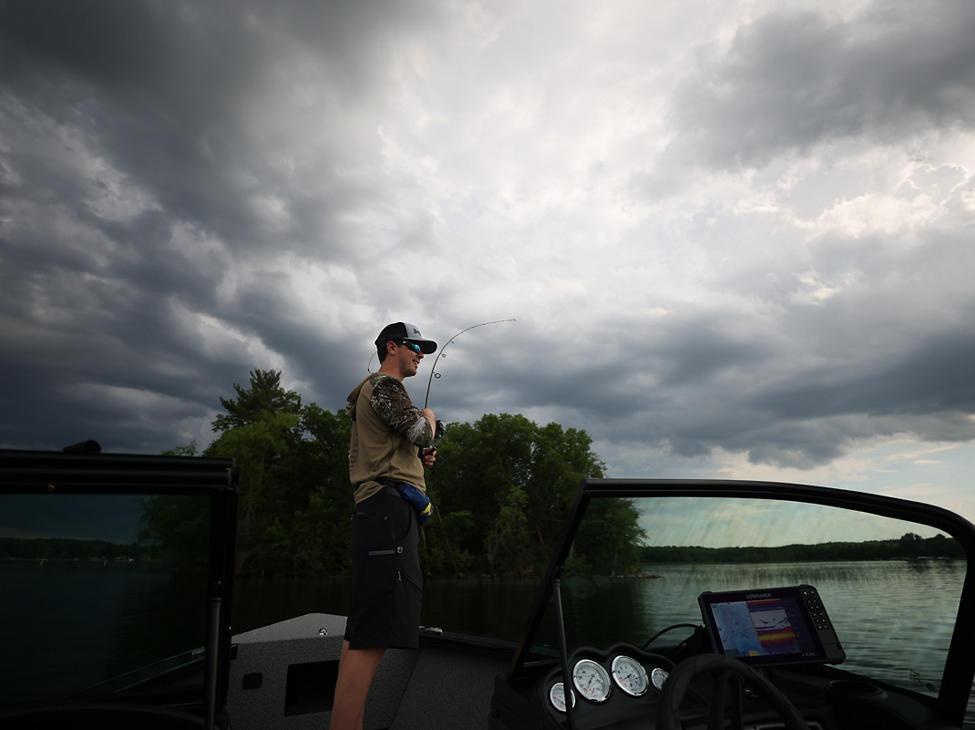 Fisherman Bow Deck Fishing