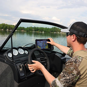 Fisherman Command Console with Room to Mount Your Electronics
