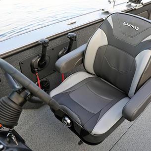 Fisherman Optional Suspension Seat