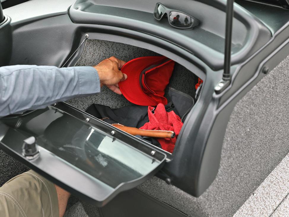 Fisherman Port Console Glovebox Compartment Open