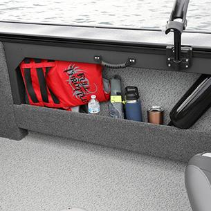 Fisherman Side Storage Compartment - Port