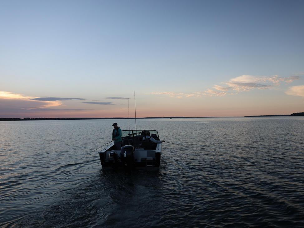 Fisherman Trolling