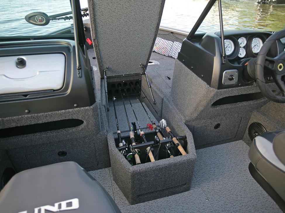 Impact-XS-Bow-Deck-Center-Rod-Locker-Storage-Compartment-Open