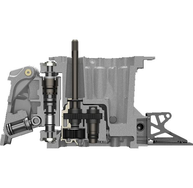 Metallic Mercury 360 Apex midsection diagram competition engine