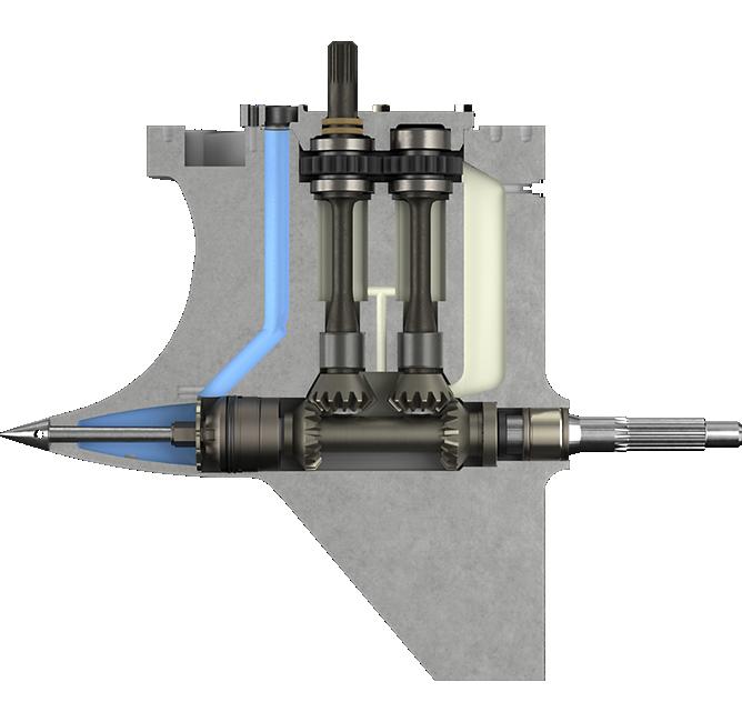 Metallic Mercury 360 Apex gearcase diagram competition engine