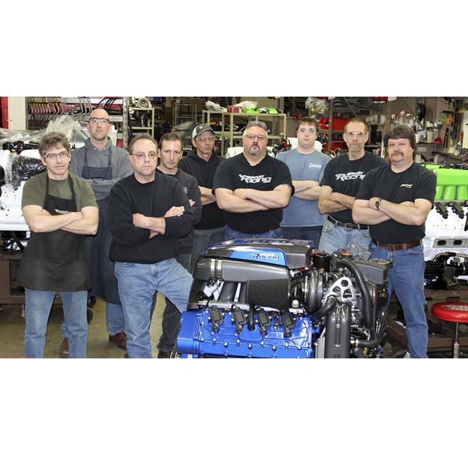 Nine Men Competition engines workshop