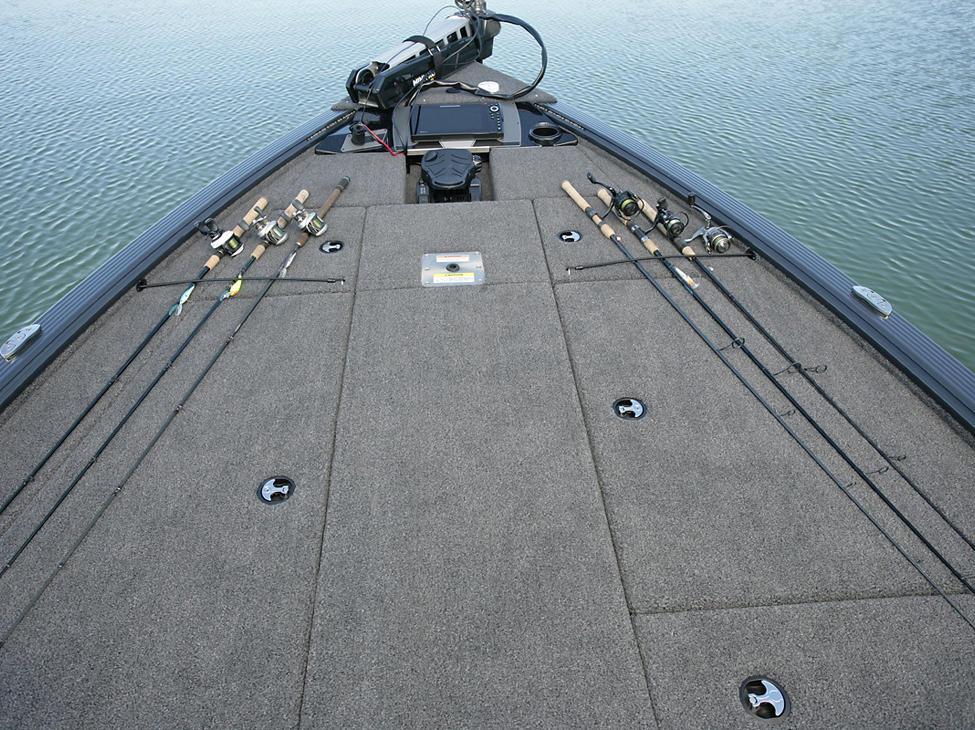 Pro-V-Bass-Bow-Deck-Rod-Straps
