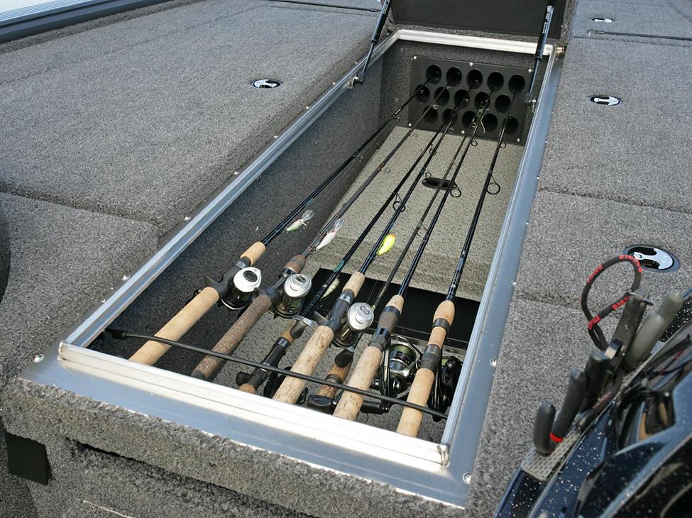 Pro-V-Bass-Center-Rod-Storage